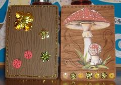 woodland theme atc sent 1