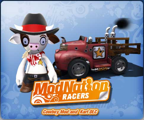 ModNation Racers - Cowboy Mod and Kart DLC