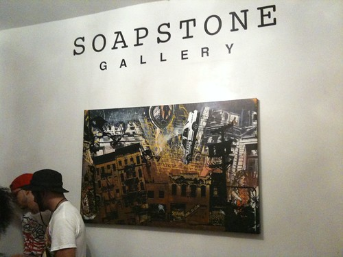 Graffiti show at the Soapstone Gallery