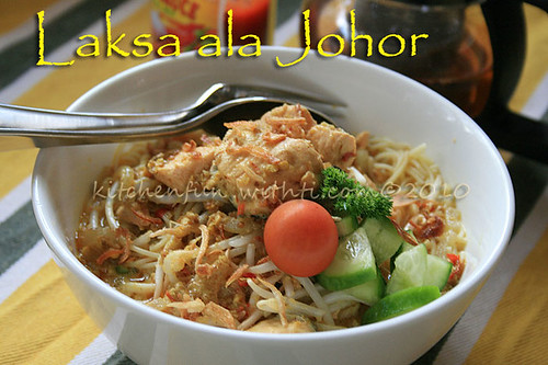 laksa pasta. 250 g Angel hair pasta cook