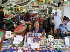 Me at the Mingle (Tanya Mac) Tags: dublin booth happy rainbow place heart market craft stall fair coop colourful tanyamac