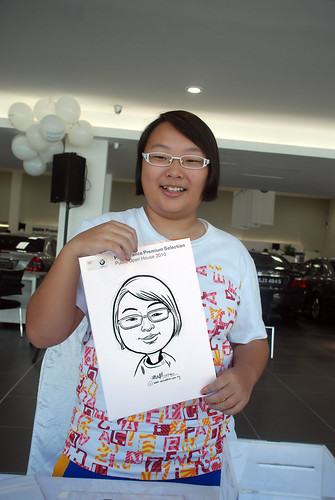 Caricature live sketching for Performance Premium Selection BMW - Day 2 - 17