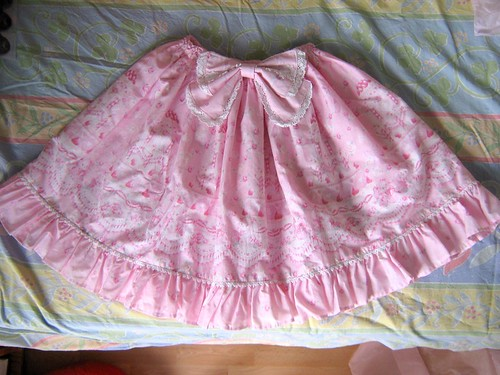 Sugar Rose Cake Skirt, <3