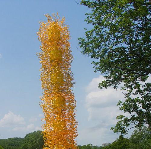 Chihuly Tower at Cheekwood
