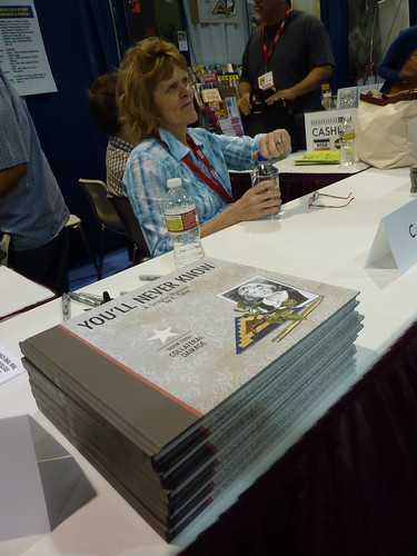 Carol Tyler & You'll Never Know Book 2 at Fantagraphics, Comic-Con 2010