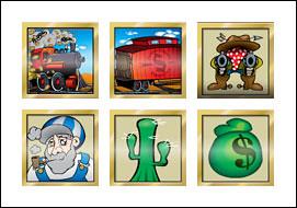 free Cash Caboose slot game symbols