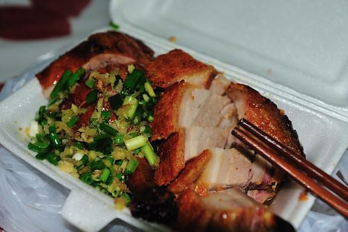我家樓下市場路邊攤的燒鴨/燒肉