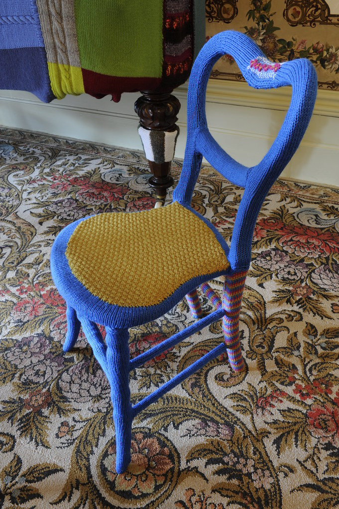 knited chair by Knit Picka