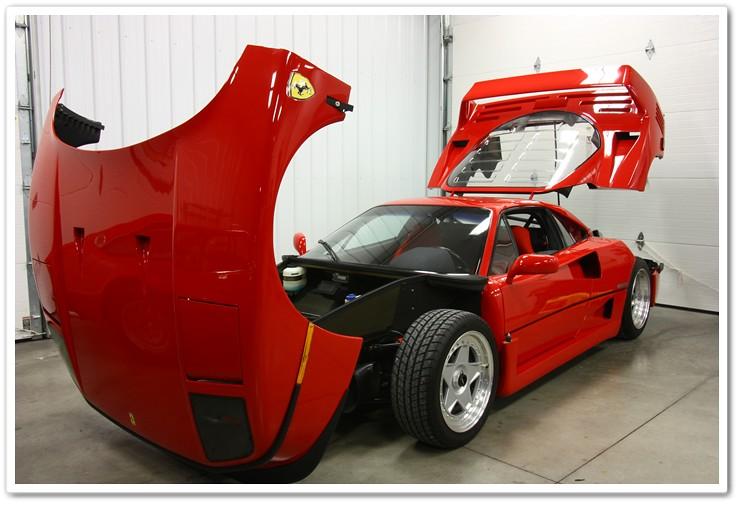 Ferrari f40 0-60