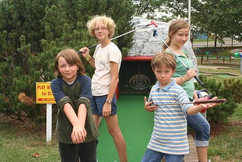7/20/10 - Mini golf