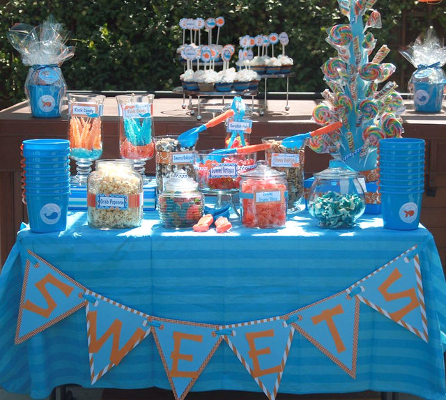 goldfish_party_candy_buffet