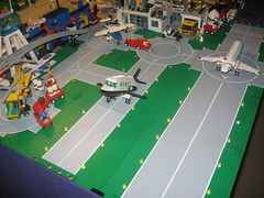 IMG_0907 (jth781) Tags: city plane airplane town airport lego jet custom learjet moc