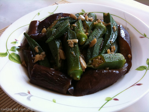 Okra Eggplant @ Food: Cooking and Capturing