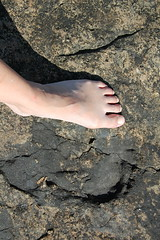 My left foot - whose' right? (Linepusle) Tags: summer norway stfold larkollen