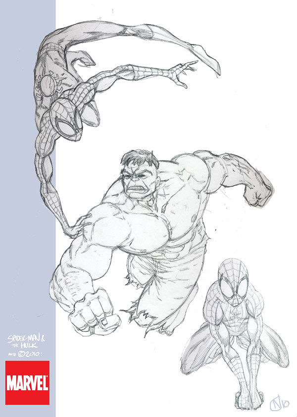 Marvel sketches RGB01