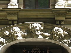Alberta 6 (kpmst7) Tags: sculpture europe latvia unesco artnouveau easterneurope 2010 balticstates hanse eurasia rga latvija northerneurope nationalcapital formerussr vidzeme rigaregion rgaregion