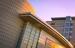 sunset reflections HDR (AgusValenz) Tags: sunset sky building architecture atardecer arquitectura edificio cielo kazakhstan hdr cs5 kazajistan atyra   tengyzchevroil