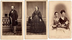 Hepburn and Newlands family members, mid 19th cent (P&KC Archive) Tags: family portrait people architecture scotland familyhistory religion perth genealogy archives photgraphy 19thcent ecsochistory historicaldocument