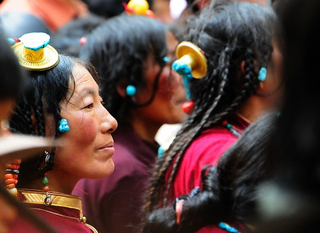 Derge Rain Retreat Festival Tibet by reurinkjan