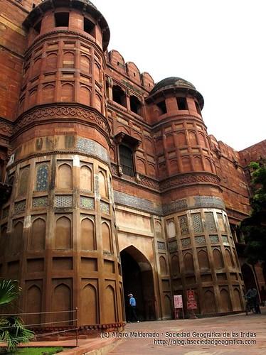 Fuerte Rojo, Agra