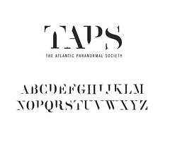 TAPS Typeface and Logo Conept (chrisolux) Tags: new york chris design graphic center taps portfolio thompson freelance theatlanticparanormalsociety typrface chrisolux