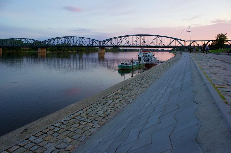 Vistula river - Torun