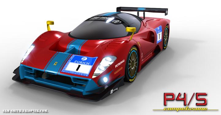 Ferrari P4_5 Competizione