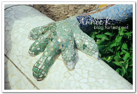 奎爾公園蜥蜴腳