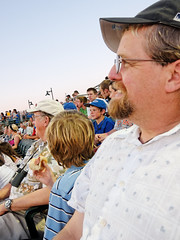 My Brother at an Iowa Cubs Baseball Game (CT Young) Tags: family ryan iowa ia dxo desmoines iowacubs s90 minorleaguebaseball compactcamera principalpark dxooptics canonpowershots90 canons90 powershots90