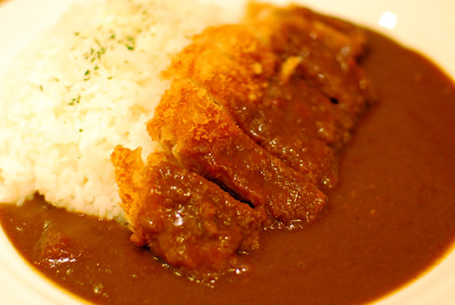Katsu curry don at Narita International Airport