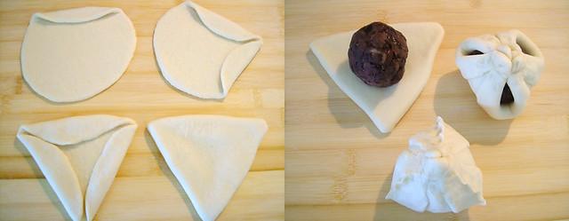 豆沙包制作