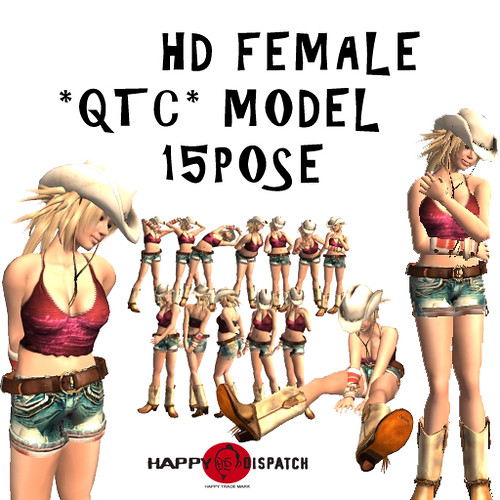 HD FEMALE QTC MODEL 15 POSE
