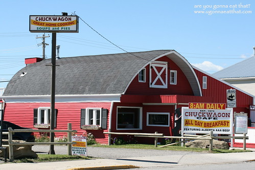 Chuckwagon Cafe, Turner Valley, Alberta