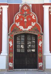 Arco Acaxochitlan Mexico (Ilhuicamina) Tags: door church mexico puerta catholic festivals iglesia fiestas arco hidalgo acaxochitlan