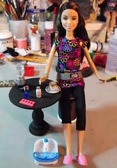 Spa Time! (DLSarmywife--DLightful Designs) Tags: barbie rement wizardsofwaverlyplace alexrusso disneydolls 16thscaleaccessories
