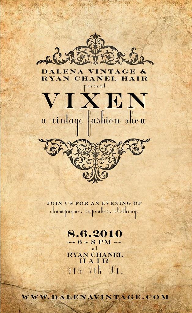 Vixen...A Vintage Showcase