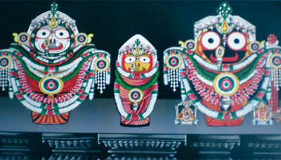 Badasinghar Besha –  Costume Of Lord Jagannath