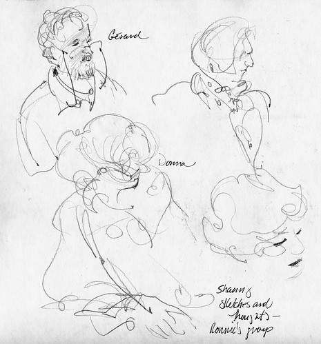 PDX 2010: gesture drawings of fellow participants
