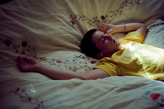 nap (laurenmarek) Tags: light boy color water yellow bed nikon nap child sleep slumber sigma adobe teenager lightroom 30mm d40 laurenmarek johnthomasmarek