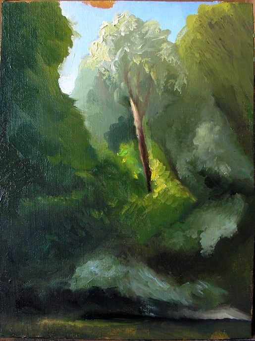 July 10th Oil painting dump for 2012