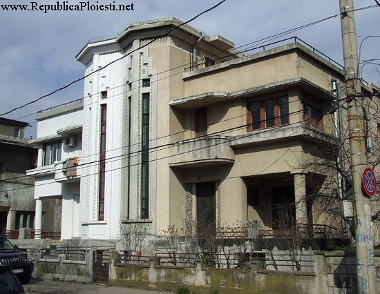 Art Deco in Ploiesti - Casa pe strada Hasdeu - 2