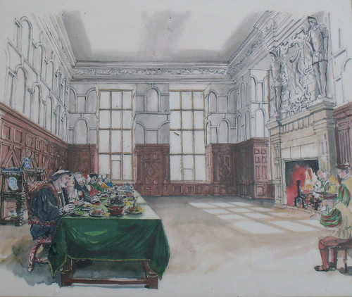 Artist's Impression of the Hill Great Chamber
