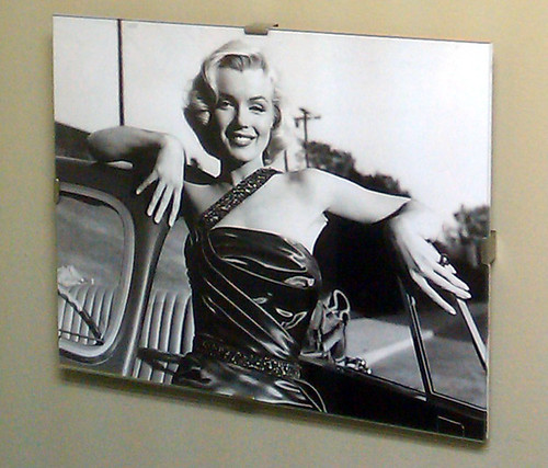 Marilyn Monroe on the walls of Hiro Sushi