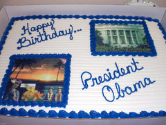 Birthday Cakes for the President-August 8, 2010