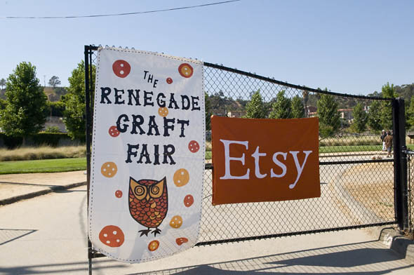 Renegade Craft Fair gate