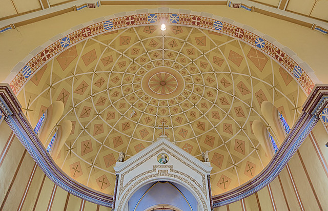 Saint Anthony Roman Catholic Church, in Lemay, Missouri, USA - apse