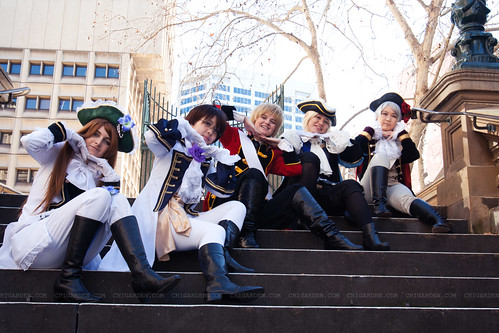 Hetalia cosplay shoot