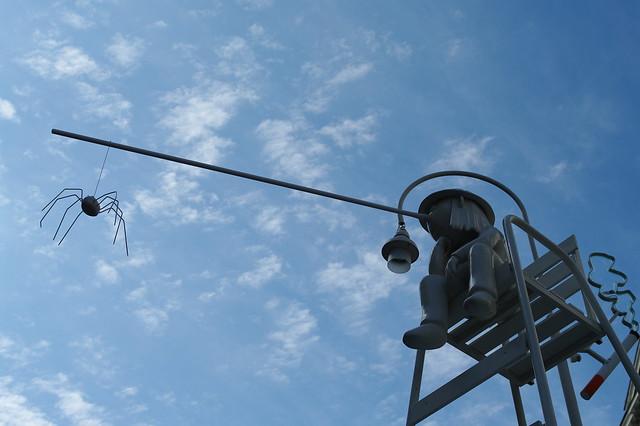 奧地利城區廣場上的裝置藝術