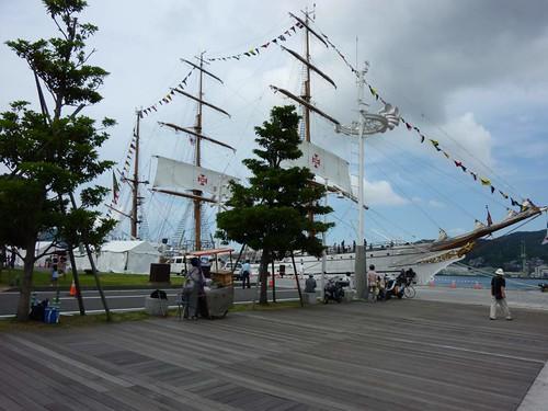 ポルトガル帆船『ザグレス号』
