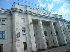 Brest train station (Timon91) Tags: station train border railway belarus trainamsterdammoscow brestcentral